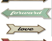 Gallery Wall Arrows - personalized with your name or word