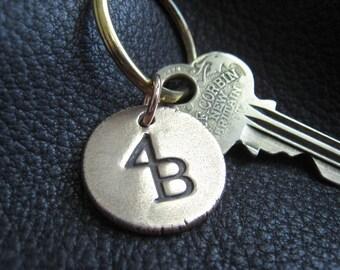Ranch Brand Cattle Brand Keychain in Solid Bronze