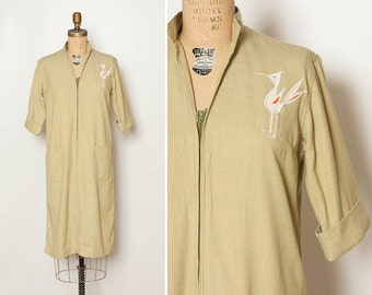 vintage 1960s roadrunner shift dress