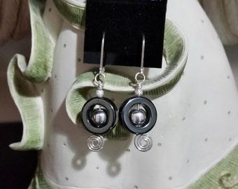 Malachite Sterling Earrings