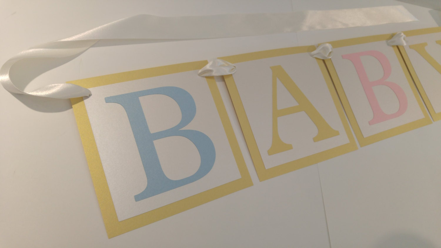 baby shower banner abc blocks theme baby shower decor perfect
