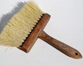 Vintage Wooden Wallpaper/Paint Brush - Brushes, Wallpaper Brushes, Paint Brushes, Wooden Brushes, Wood, Nylon Bristles, Assemblage