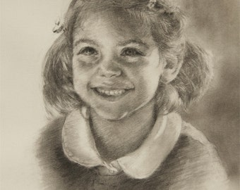 Charcoal Portrait Commission