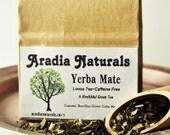 Yerba Mate Loose Green Tea - Caffeine Free Specialty Herbal Tea  - Delicious Natural Ingredients, High Anti-oxidant
