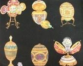 John Wolf Decorative Fabric Faberge Pattern