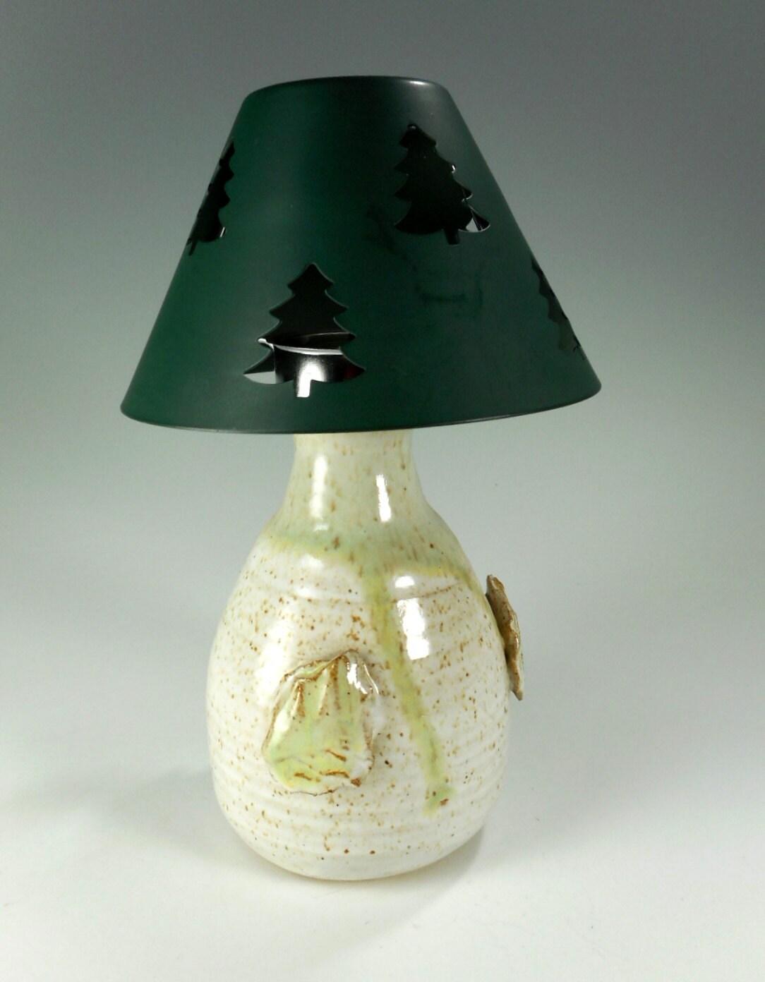 Pottery Tree Candle Holder Ceramic Tea Light Candle Holder