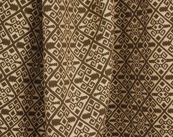 Brown Tan Southwest Upholstery Fabric