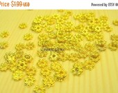 20% OFF ON SALE Gold Plated 2mm Flower Cap