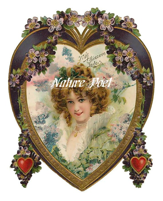 Valentine Downloadable Printable Digital Art Image