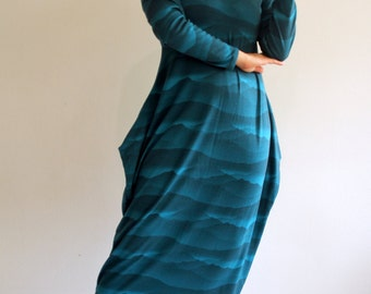 Mountain Treasure Collector Merino Wool Maxi Dress