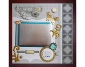 MOMENTS SPENT TOGETHER Memory Album Page (Gallery Wood Shadow Box Frame Sold Separately)