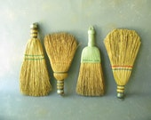 Vintage Whisk Brooms, Instant Collection