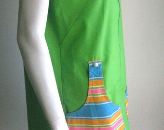 60s 70s mod vintage large dress