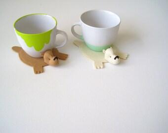 Bear Rug Coaster (Set of Two)