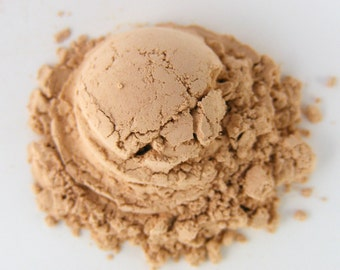 Mineral Makeup - Mineral Foundation - Organic Makeup - Vegan Makeup - Natural Makeup - Creamy Sand