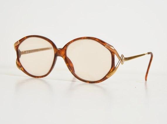 Vintage Dior Eyeglass Frames : Vintage 70s 80s Christian Dior Frames Oversized Eyeglasses