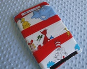 Car Seat Handle Cover Dr. Seuss and Minky, Your Choice of Colors, Reversible