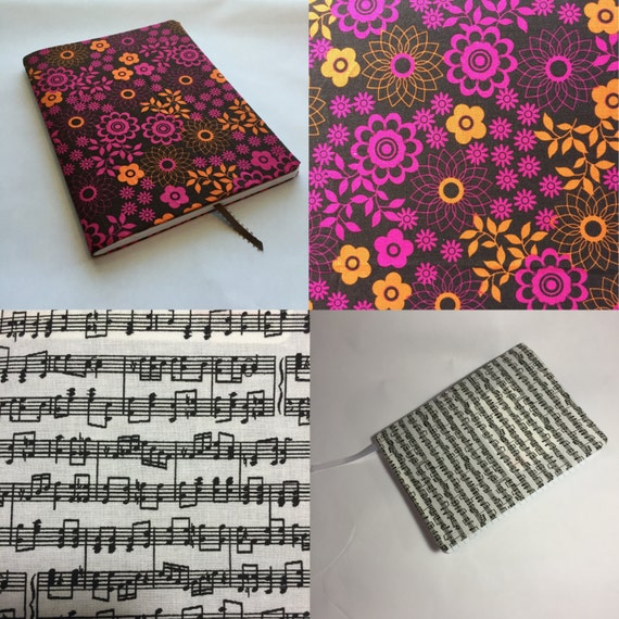 Fabric Book Covers Make Your Own ~ Create your own book cover with bookmark pick by eluandas