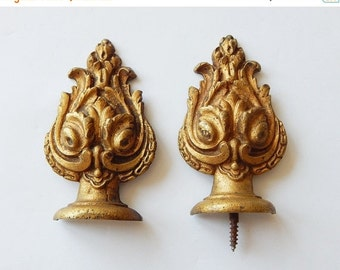 Sale 30% french metal decorations curtain rod decorations