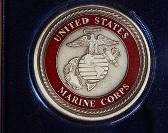US Marine Corp Medallion Bronze