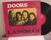Reduced Price - The Doors Vinyl - L A Woman - In Original Shrink Wrap WOW - Vintage album in NM Condition