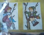 Hummel Stitchery Crewel Embroidery Bell Pull Kit Unopened Unused #0466 Apple Tree Children Paragon Needlecraft