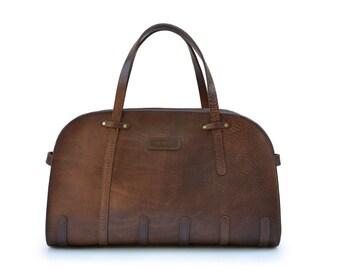 Travel Bag // Leather cabin bag  // Weekend bag