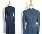 Vintage 80s Party Dress -...