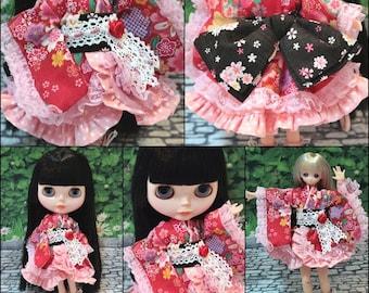 kimono  Dresses, Blythe,DAL,Licca Takara,Azone