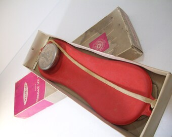 Vintage Wearever Ice Bag For Throat and Spinal Use In Original Pink Box Made in USA