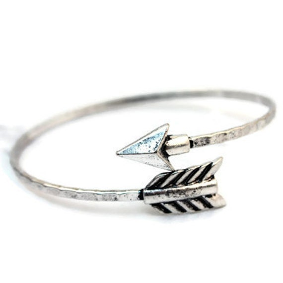 arrow spiral cuff bracelet arrow bangle bracelet arrow