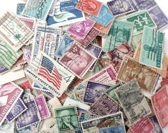 United States Postage Stamps Lot of 290