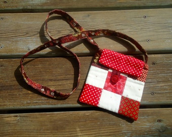 Small cross body bag, grab and go purse