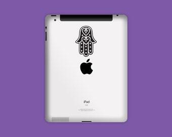 NEW! Vinyl Decal, HAMSA DECAL, iPad Decal, Tablet Decal