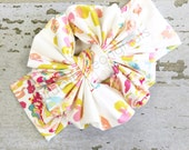 Messy Bow in Full Bloom by Ruby Blue