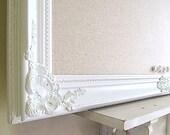 Linen BULLETIN BOARD White Framed Cork Board Corkboard Home Office Wall Decor Organizer Kitchen Farmhouse Decor Decorative Message Board