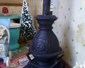 Old Potbelly Stove Miniature Dollhouse