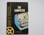 Vintage Ladybird Book, The Computer, Childrens Book, 1980s Book, How It Works, Computer Book, Picture Book, Educational Book, Series 654