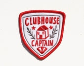 Clubhouse Captain Patch