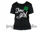 4-H Shirt, Show Girl Shirt, Stock Show Shirt, 4-H Girl Tee, Farm Girl Shirt, 4H Tee, County Fair, Stockshow, Rodeo, Cattle Show Shirt, 4-H