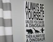 Dinosaur Sign, DInosaur Decor, Boys Bedroom Decor, Nursery Decor, Nursery Sign, Dinosaur Bedroom, Dinosaur Decoration