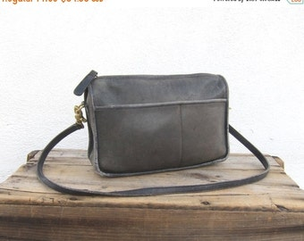 15% Off Out Of Town SALE 70s  Coach Distressed Small Black Leather Shoulder Bag