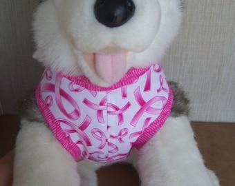 Breast Cancer Pink Ribbon Dog Harness