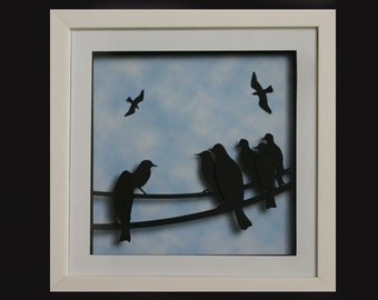 Blackbirds on a Wire