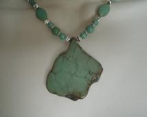 Western Turquoise Necklace, southwestern jewelry southwest jewelry turquoise jewelry native american jewelry theme western jewelry country
