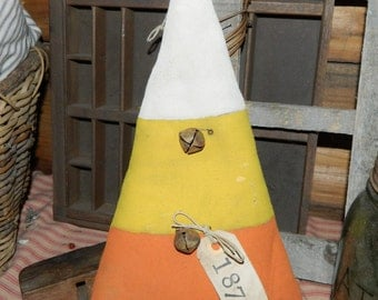 Primitive Fall Candy Corn Door Hanger-FAAP