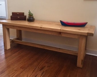 Handcrafted Bench/Coffee Table