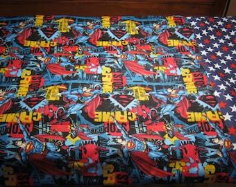 Standard Pillow Case-Superman Pillowcase