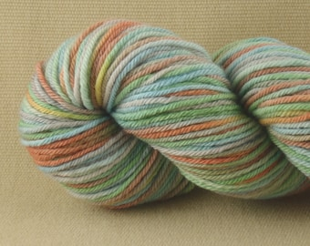 Hand Dyed Yarn - Multicolor Madness - Worsted Weight Yarn - 100% Non-Superwash Merino Wool Yarn