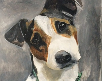 Custom 11x14 Dog Portrait